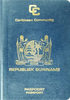 Passport of Suriname