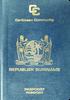 Passport of Suriname