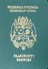 Passport of Tonga