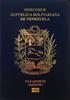 Passport of Venezuela