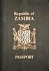 Passport of Zambia