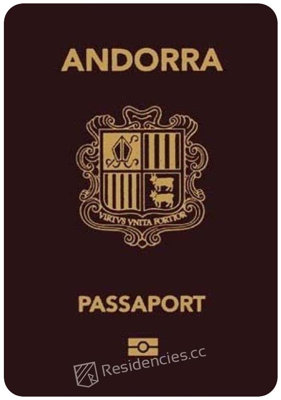 Passport of Andorra, henley passport index, arton capital's passport index 2020