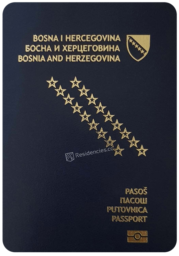 Passport of Bosnia and Herzegovina, henley passport index, arton capital's passport index 2020