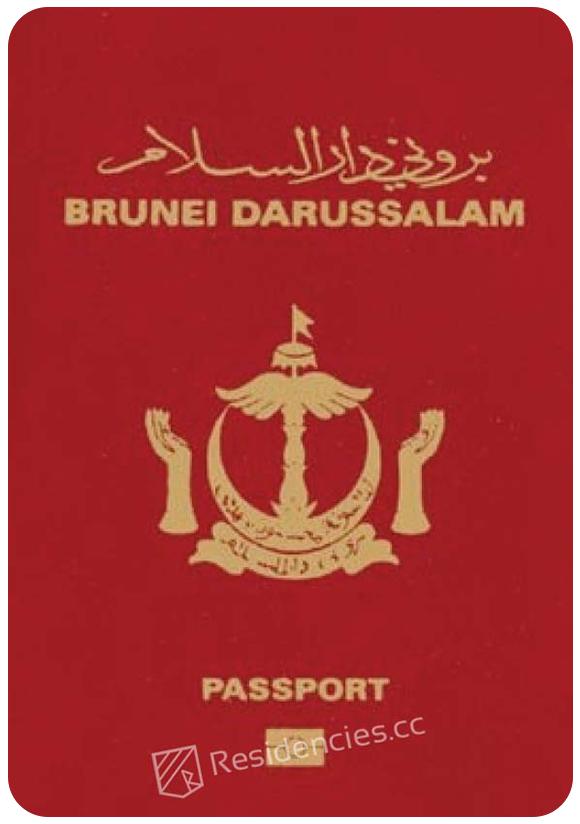 Passport of Brunei, henley passport index, arton capital's passport index 2020