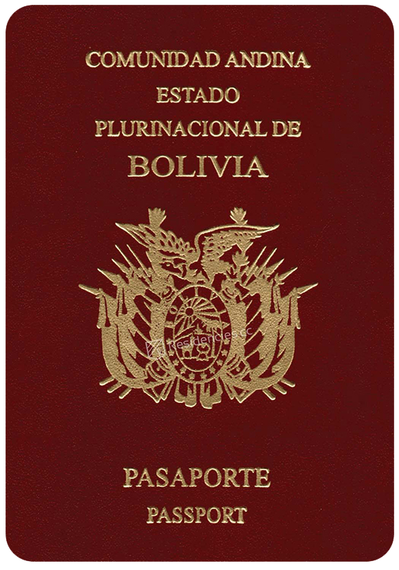 Passport of Bolivia, henley passport index, arton capital's passport index 2020