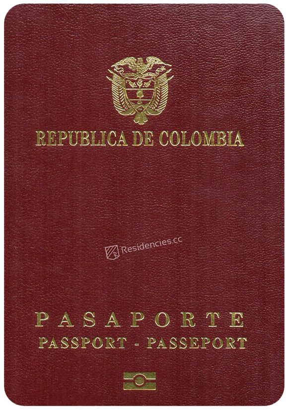 Passport of Colombia, henley passport index, arton capital's passport index 2020