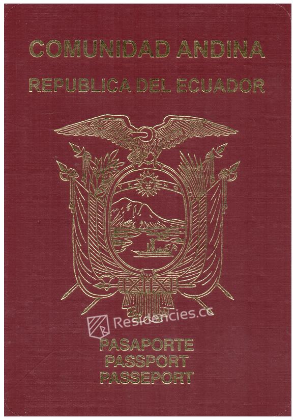 Passport of Ecuador, henley passport index, arton capital's passport index 2020