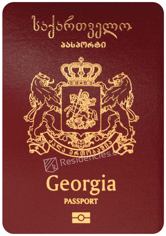 Passport of Georgia, henley passport index, arton capital's passport index 2020