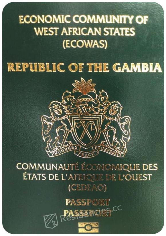 Passport of Gambia, henley passport index, arton capital's passport index 2020
