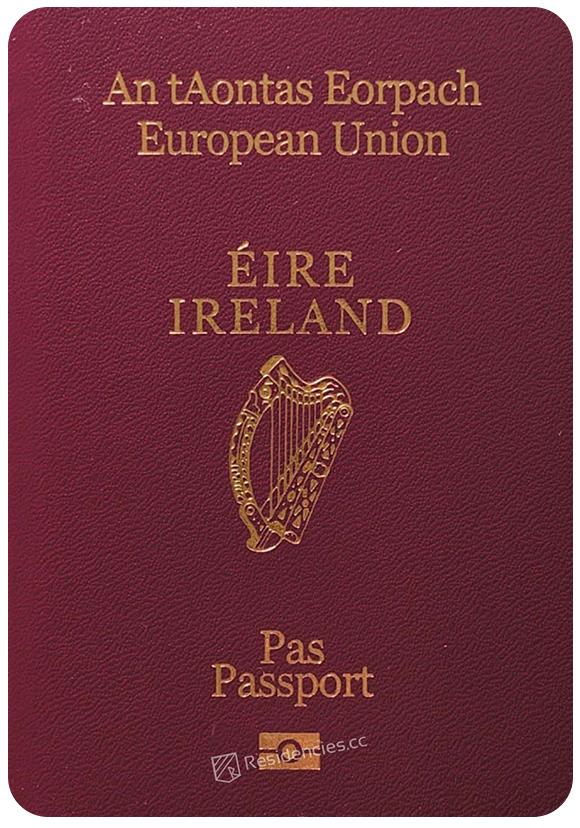 Passport of Ireland, henley passport index, arton capital's passport index 2020