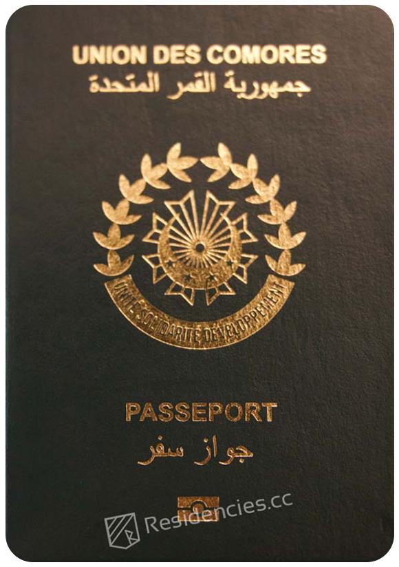 Passport of Comoros, henley passport index, arton capital's passport index 2020