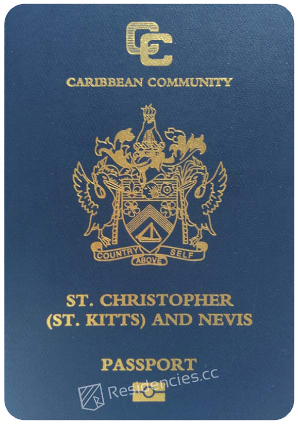 Passport of Saint Kitts and Nevis, henley passport index, arton capital's passport index 2020