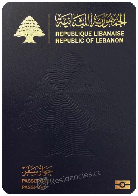 Passport of Lebanon, henley passport index, arton capital's passport index 2020