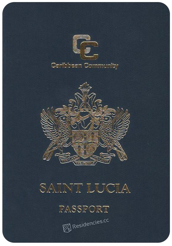 Passport of Saint Lucia, henley passport index, arton capital's passport index 2020