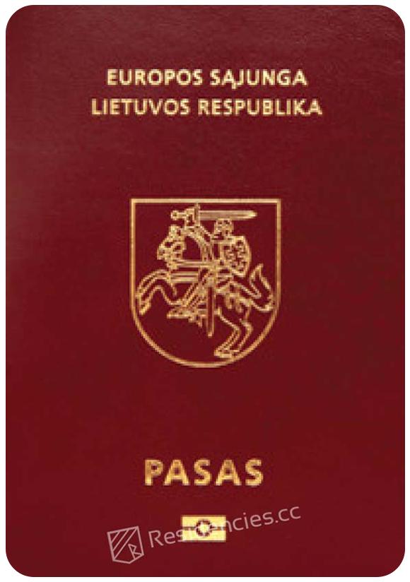 Passport of Lithuania, henley passport index, arton capital's passport index 2020