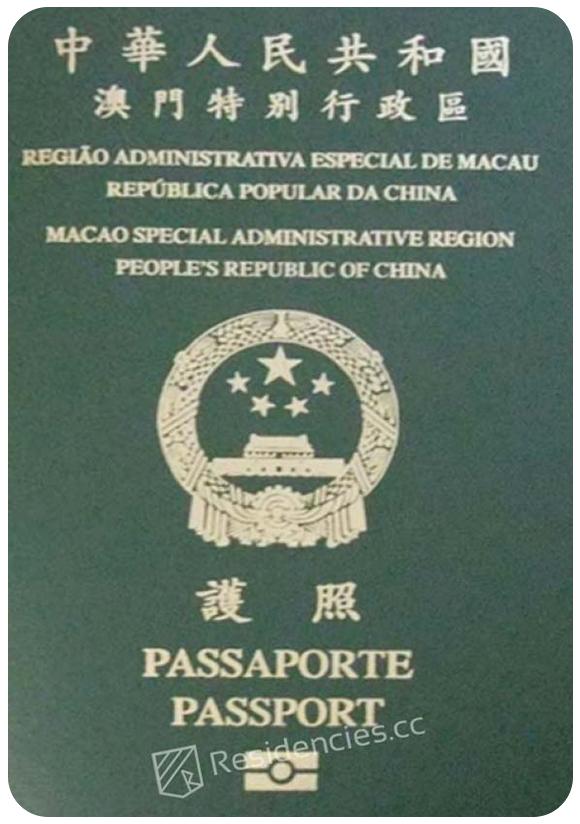 Passport of Macao, henley passport index, arton capital's passport index 2020