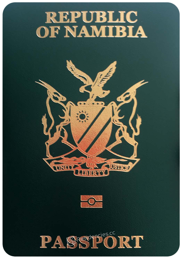 Passport of Namibia, henley passport index, arton capital's passport index 2020