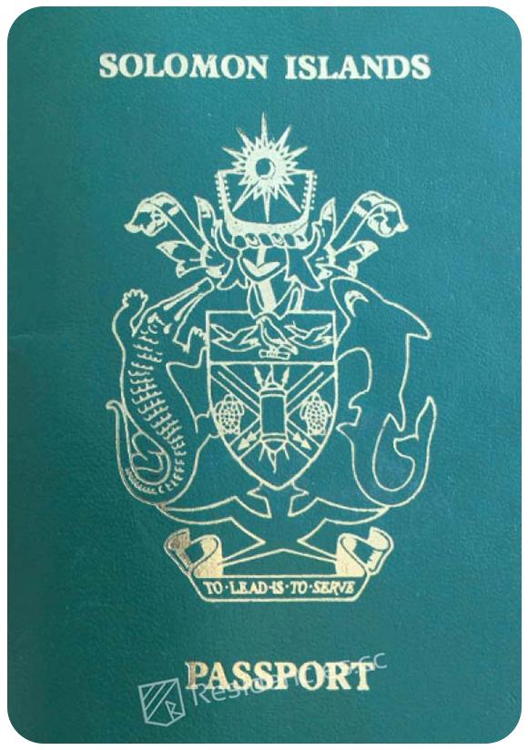 Passport of Solomon Islands, henley passport index, arton capital's passport index 2020