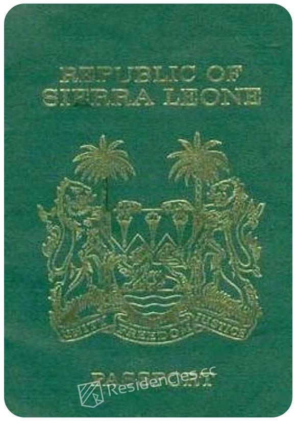 Passport of Sierra Leone, henley passport index, arton capital's passport index 2020