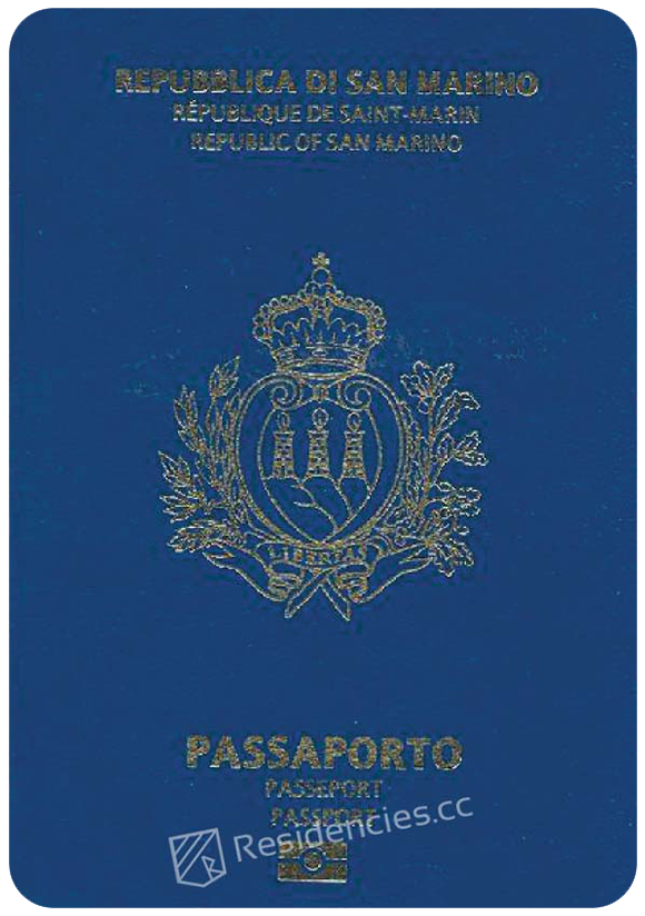 Passport of San Marino, henley passport index, arton capital's passport index 2020