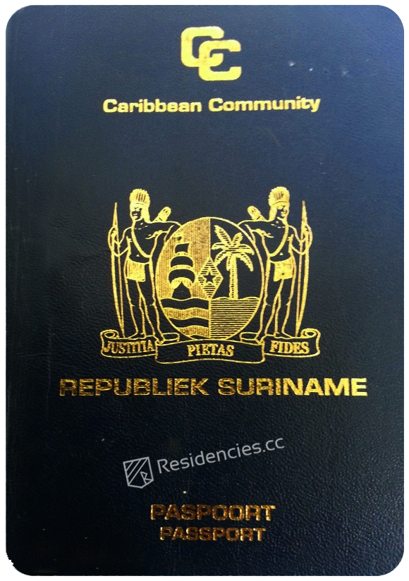 Passport of Suriname, henley passport index, arton capital's passport index 2020