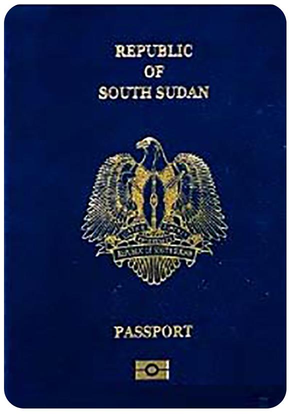 Passport of South Sudan, henley passport index, arton capital's passport index 2020