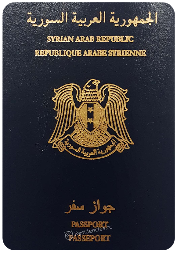 Passport of Syria, henley passport index, arton capital's passport index 2020