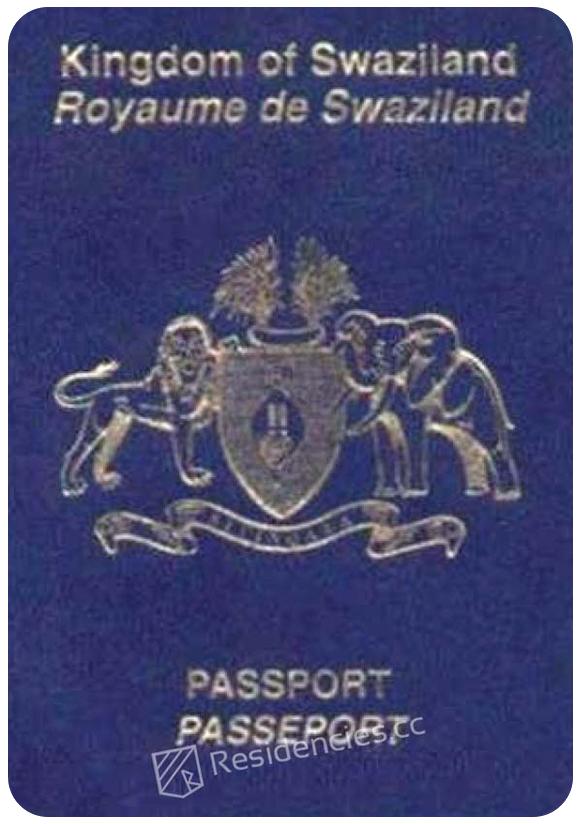 Passport of Eswatini, henley passport index, arton capital's passport index 2020