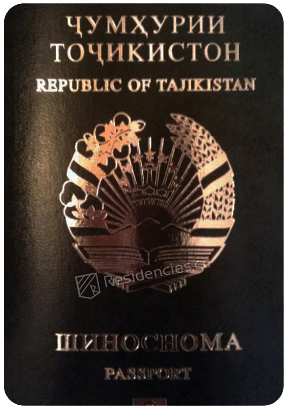 Passport of Tajikistan, henley passport index, arton capital's passport index 2020