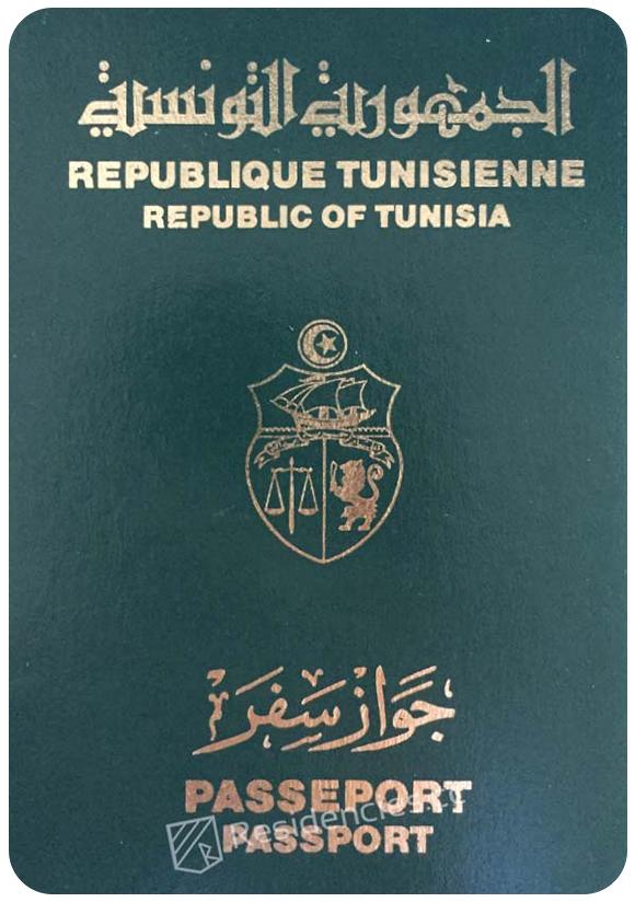 Passport of Tunisia, henley passport index, arton capital's passport index 2020