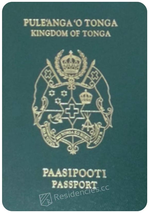 Passport of Tonga, henley passport index, arton capital's passport index 2020