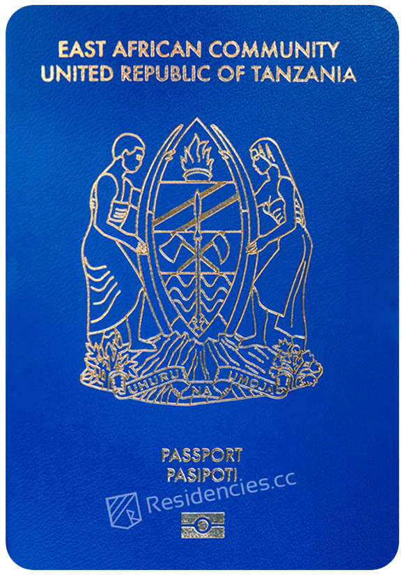 Passport of Tanzania, henley passport index, arton capital's passport index 2020