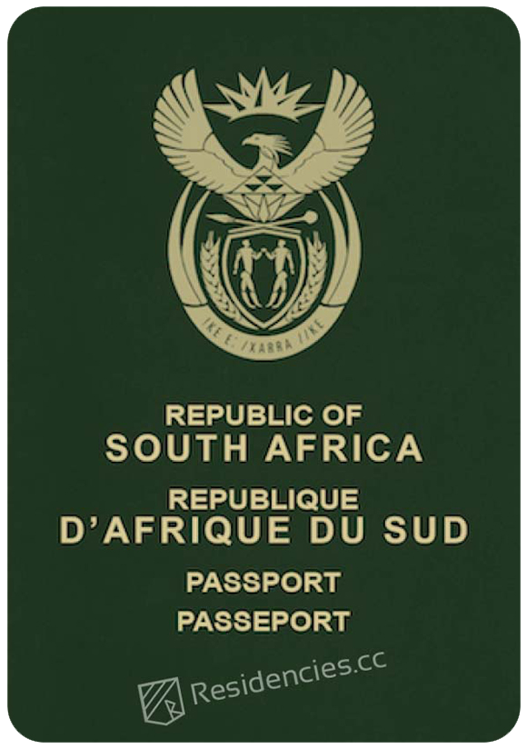 Passport of South Africa, henley passport index, arton capital's passport index 2020