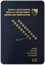 Passport of Bosnia and Herzegovina