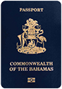 Passport of Bahamas