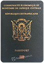 Passport index / rank of Central African Republic 2020