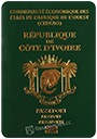 Passport of Cote d'Ivoire (Ivory Coast)