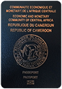 Passport of Cameroon