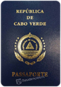 Passport of Cape Verde