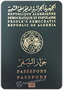 Passport of Algeria