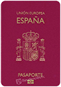 Passport of Spain