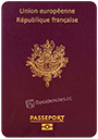 Passport of France