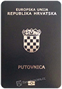 Passport of Croatia