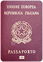 Passport of Italy