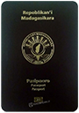 Passport of Madagascar