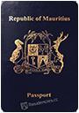 Passport of Mauritius