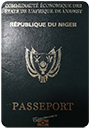Passport of Niger