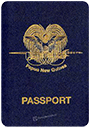 Passport of Papua New Guinea
