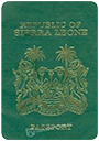 Passport index / rank of Sierra Leone 2020