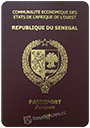 Passport of Senegal